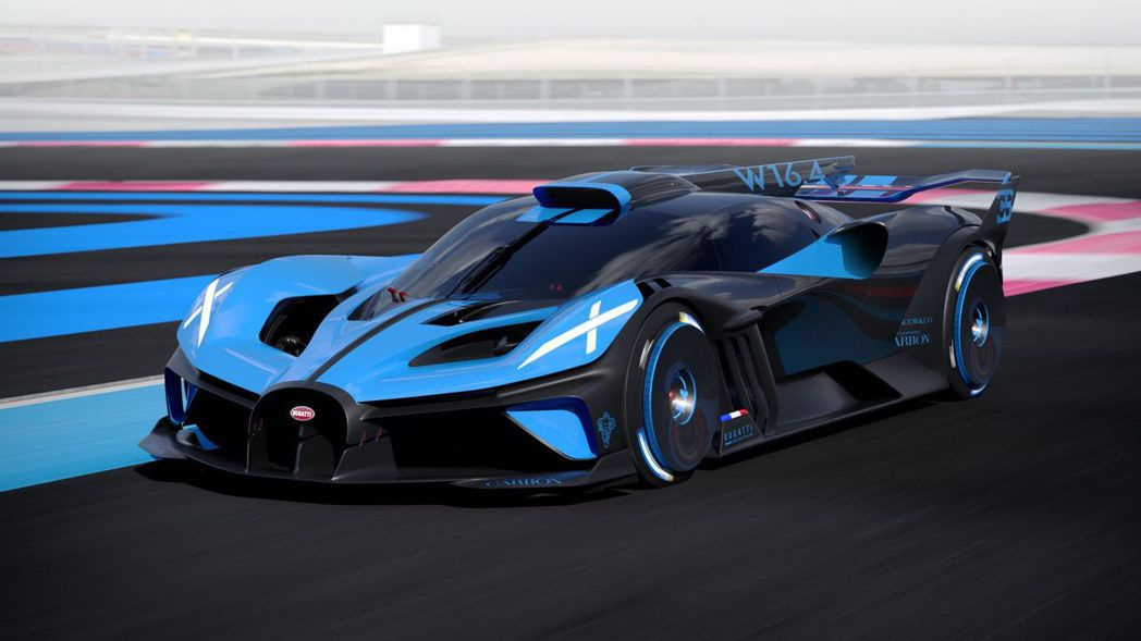 Bugatti Bolide馬力重量比居然能達到驚人的0.67 kg/ps。 圖...