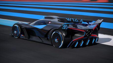 賽道專用山豬王Bugatti Bolide登場0-300km/h只要7.7秒?紐北更是只有5分23秒!