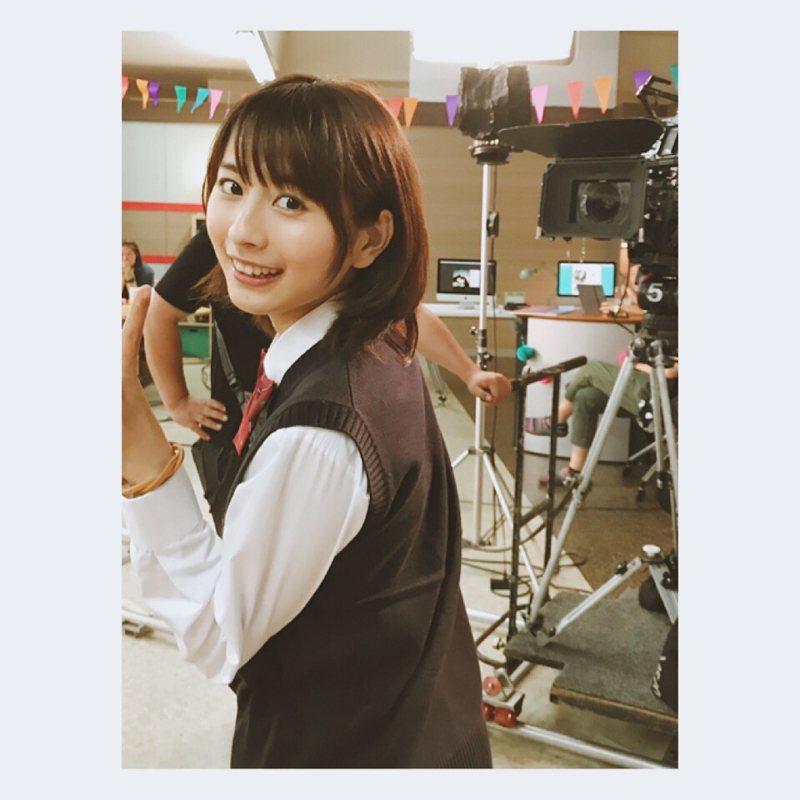 中國出身的女星龍夢柔,因長相被封為「中國版新垣結衣」。圖擷取自IG