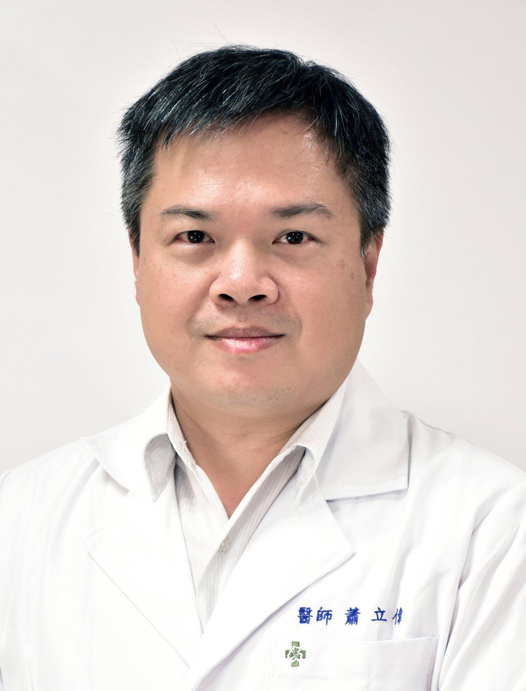 彰濱秀傳醫院新陳代謝科主任蕭立偉 圖/秀傳醫院 提供