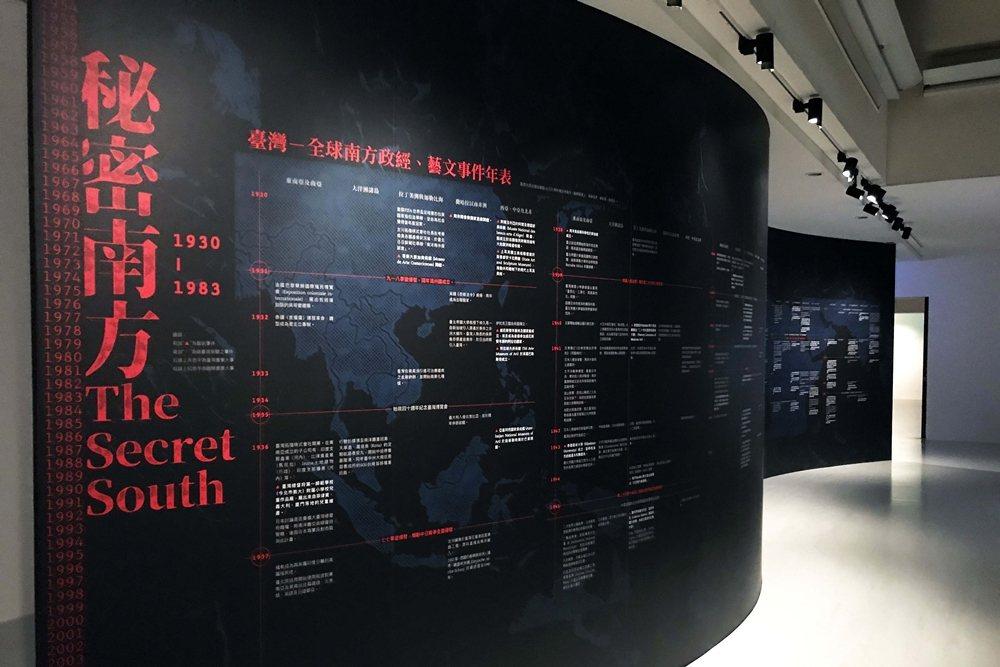 2020年7月北美館策畫舉辦「秘密南方——典藏作品中的冷戰視角及全球南方」。 圖/作者自攝