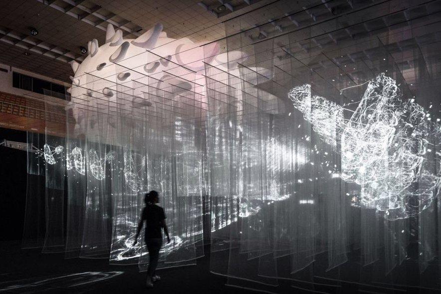 月初在新竹登場的「台灣設計展」,據說創下開幕來最高單日參訪人次紀錄。 圖/2020台灣設計展