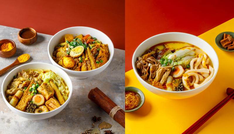 潮味決新推「日式湯咖哩、麻油雞風味」湯滷新口味。 圖/潮味決