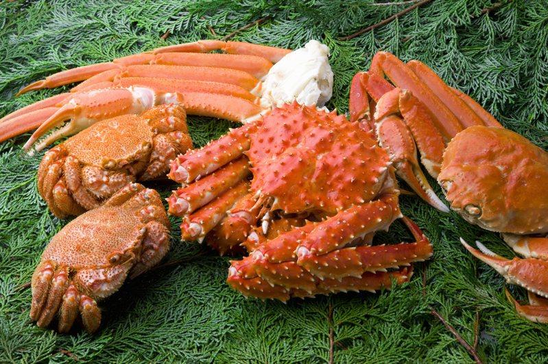 螃蟹示意圖。 Ingimage