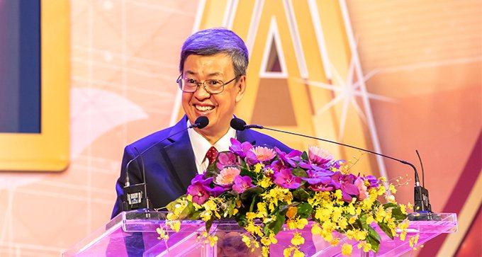 前副總統、中央研究院院士陳建仁。本報資料照片