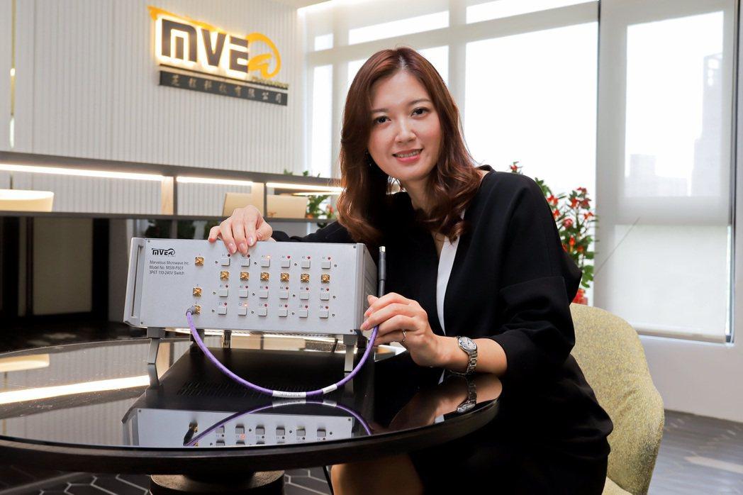芝程科技總經理林婉如指出,該公司推出的毫米微波濾波器,在進行5G測試時,可在不降...