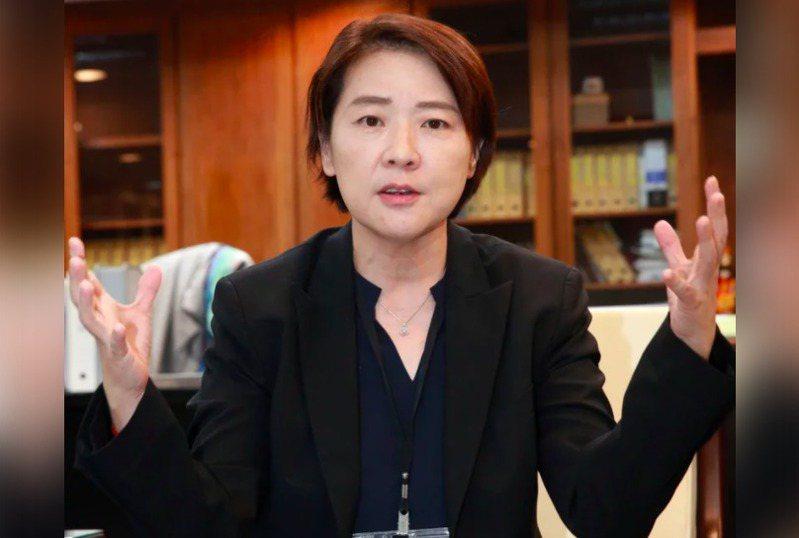 台北市副市長黃珊珊。聯合報系資料照