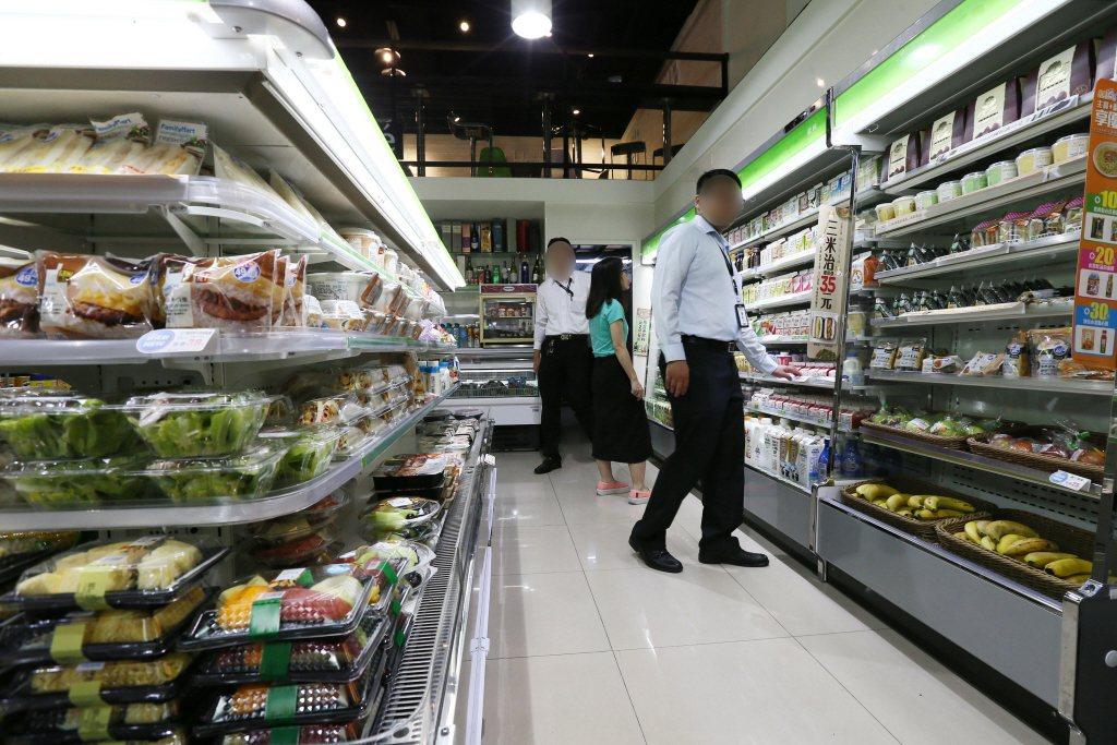 全家便利商店便當營養標示與實際不符挨罰。聯合報系資料照