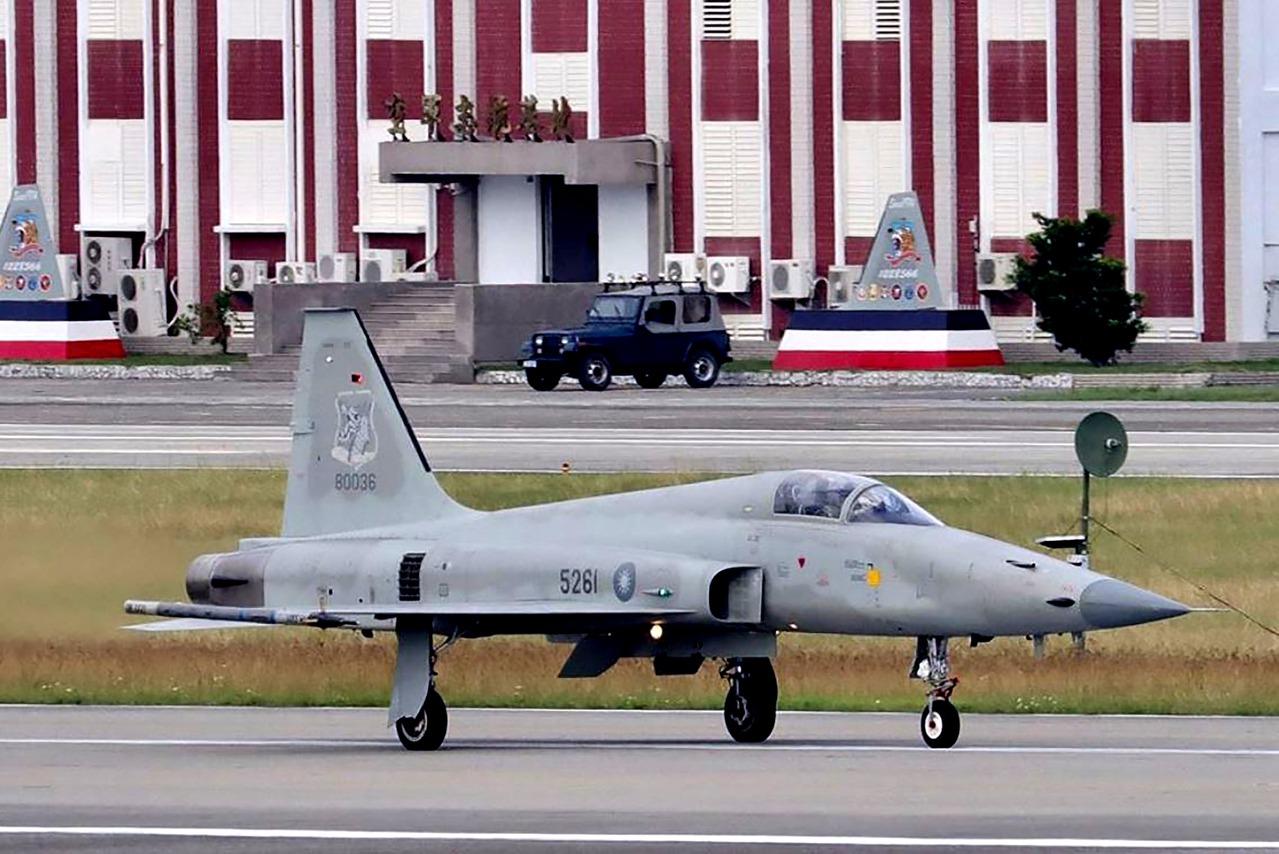 F-5E/F機群老舊 台東聯隊全基地都部署這型機