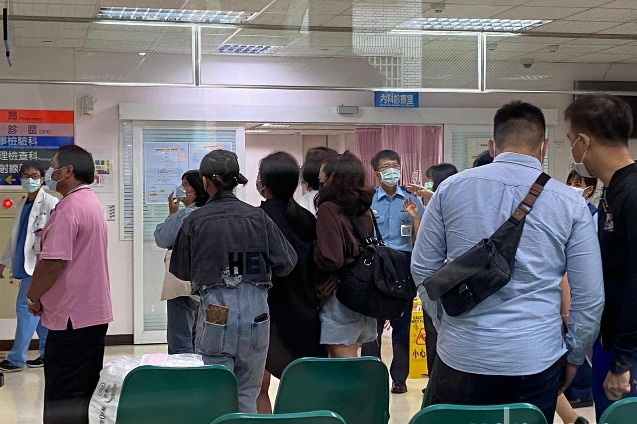 台東志航墜機飛官朱冠甍上尉 送醫搶救宣告不治