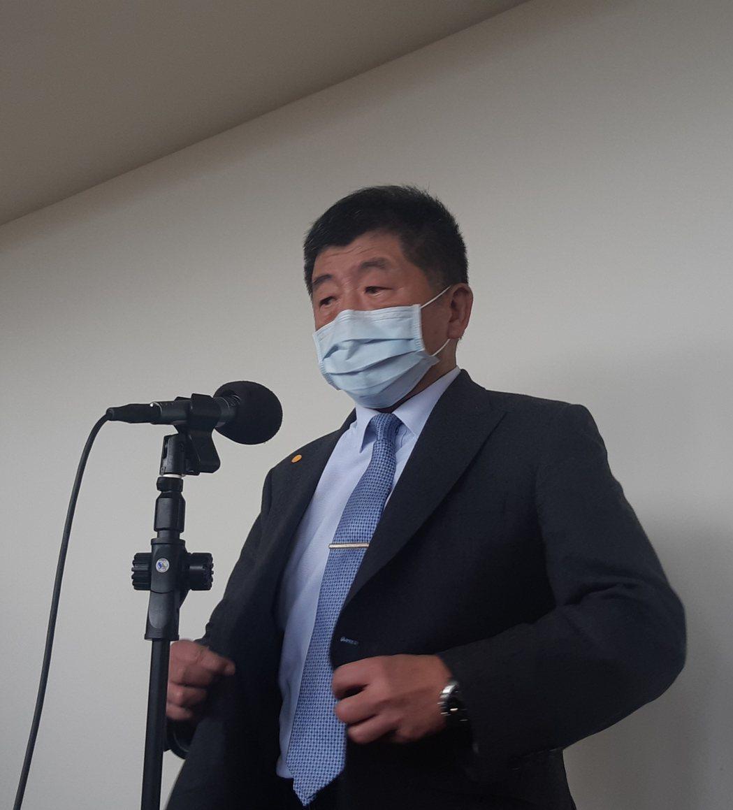 衛生福利部部長陳時中。記者邱宜君/攝影