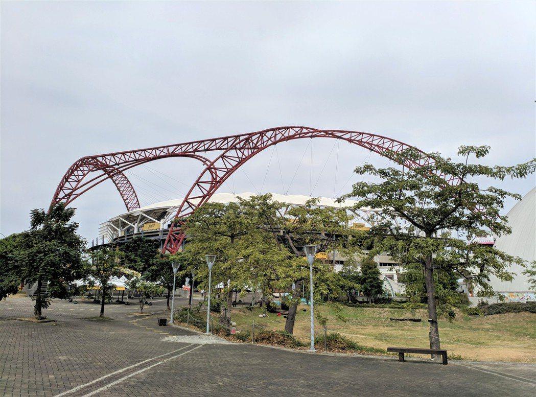 台中洲際棒球場。圖/台灣房屋集團趨勢中心提供