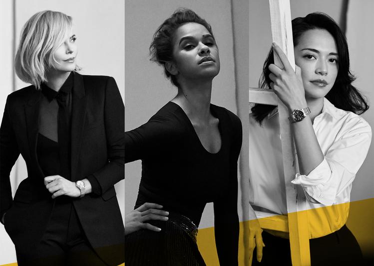 百年靈(Breitling)昨日宣布:邀請三位品牌好友奧斯卡影后Charlize...