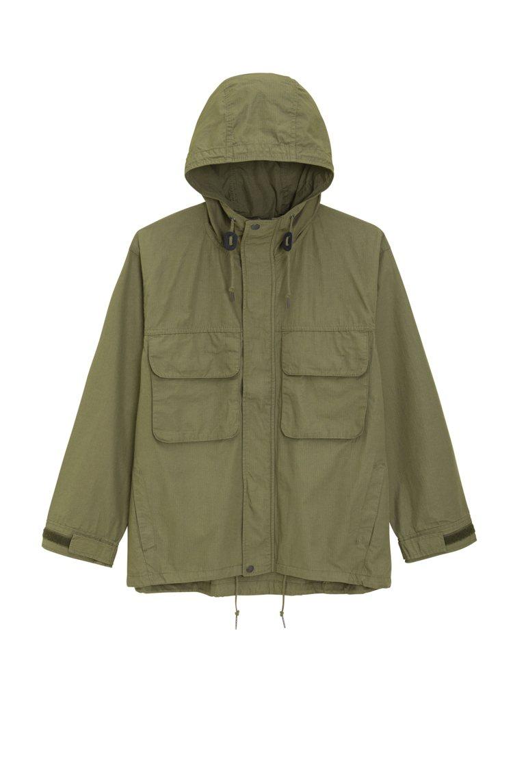 GU男裝雙口袋外套,原價990元,限時搶購599元。圖/GU提供