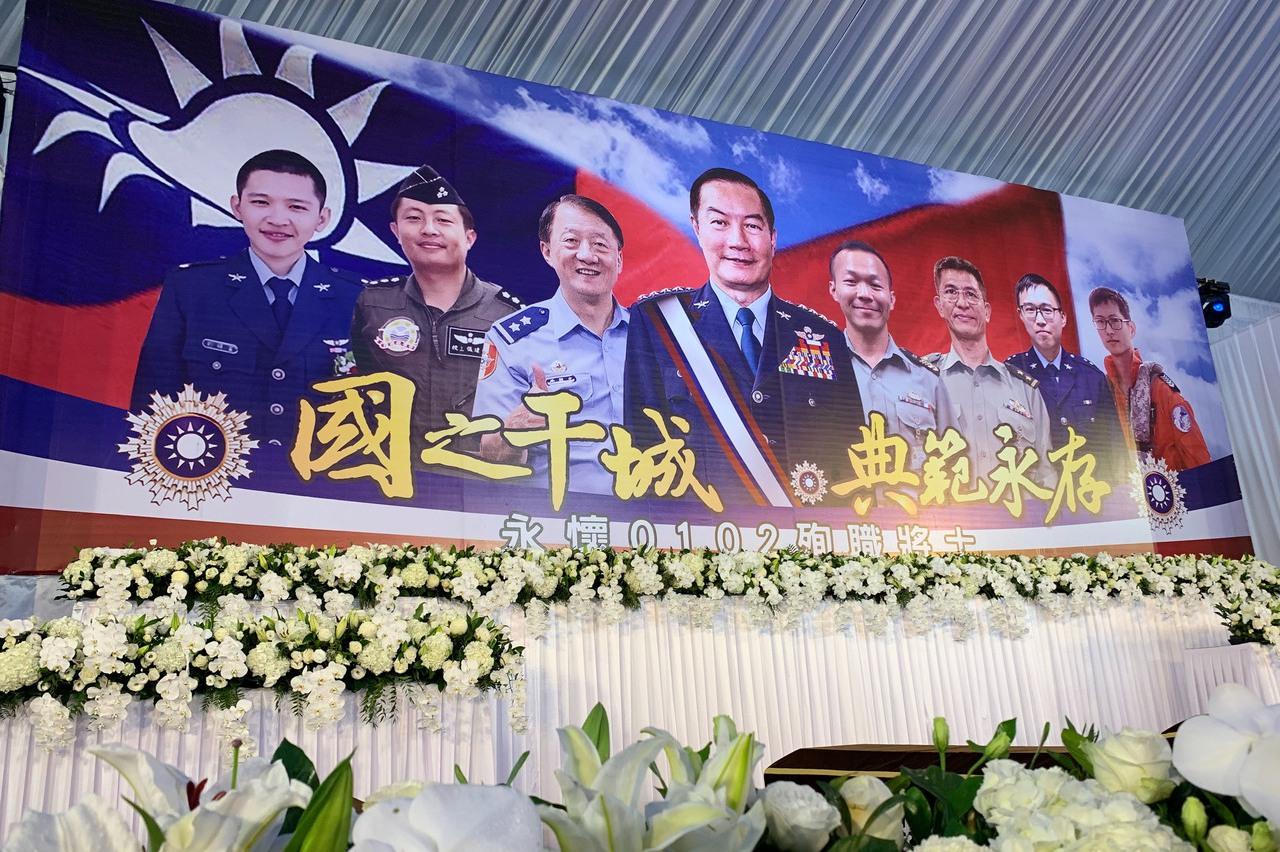 慟!參謀總長沈一鳴、飛官朱冠甍 今年殉職官兵累計已15人