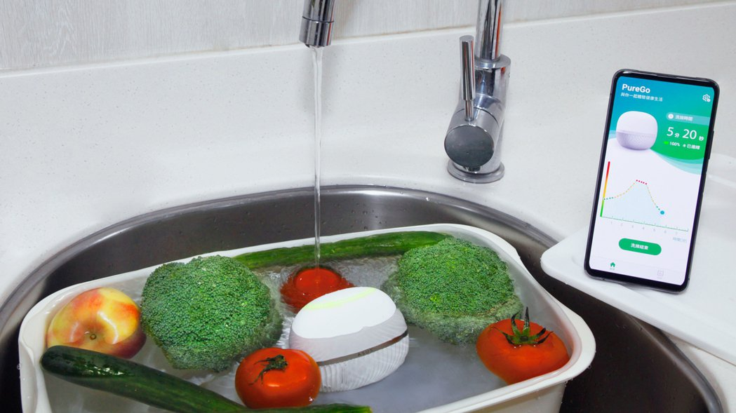 華碩推出專為食安把關的「ASUS PureGo蔬果洗淨偵測器」,售價為4,990...