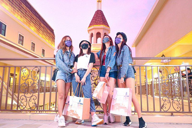 麗寶Outlet 週年慶11月7日開打,有全台獨家時尚口罩百元加價購。圖/麗寶Outlet提供