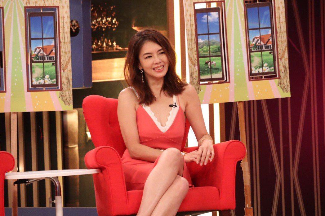林美貞今錄衛視「一袋女王」。圖/衛視提供