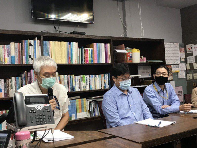 大考中心和教育部今舉行記者會,表示110學年會循往例去中國大陸設考場。記者潘乃欣/攝影