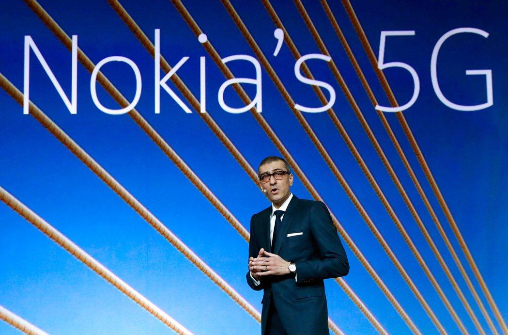 Nokia下調全年財測,並將大幅調整策略,力爭5G市場。 路透
