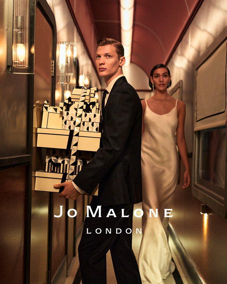 Jo Malone London推出2020年耶誕系列商品。圖/Jo Malon...