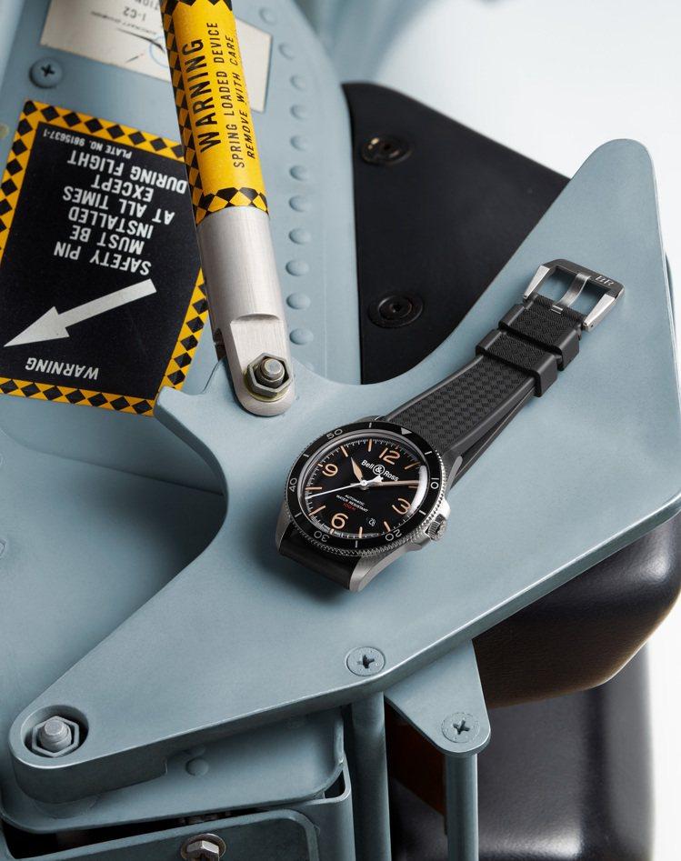 Bell & Ross,BRV-92 steel Heritage腕表,97,3...