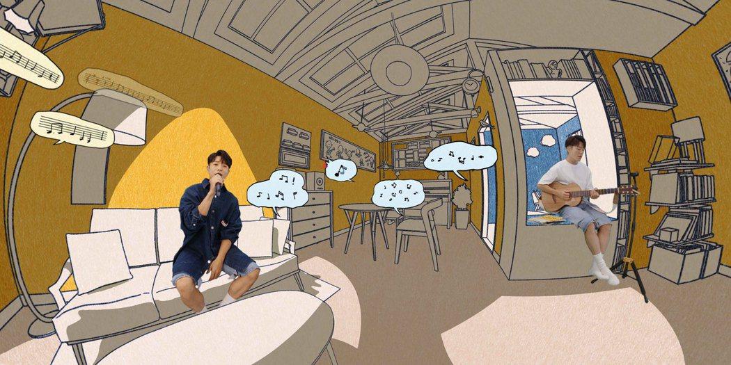 韋禮安明晚8點舉辦「HyperLIVE 2020:聽我的」線上音樂會,首次以虛擬...