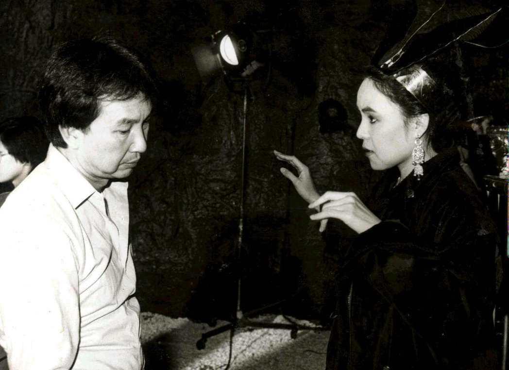蔡揚名(左)楊惠姍拍「美人國」時,感情已在低潮。圖/報系資料照片
