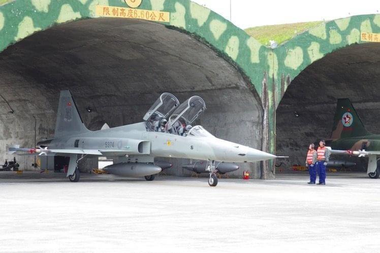 國防部空軍司令部今天表示,我國現役F-5戰機機隊沒有「老舊」的問題。