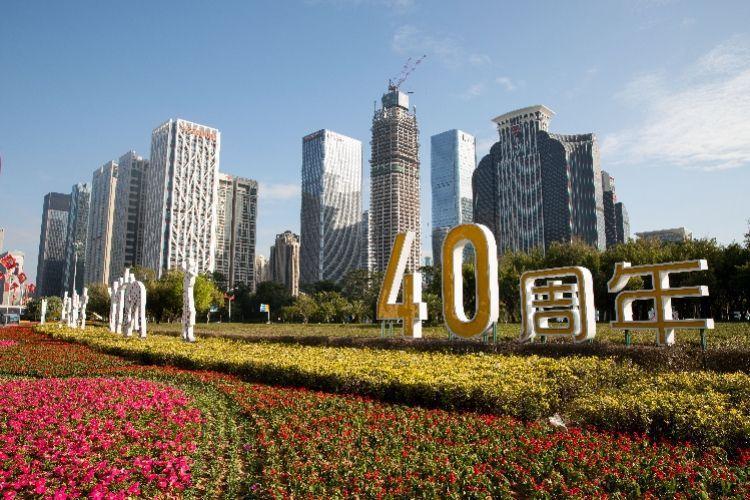 陸媒稱,大陸15年後的人均GDP將達至少4萬美元。圖為深圳城市街景圖。(深圳網)