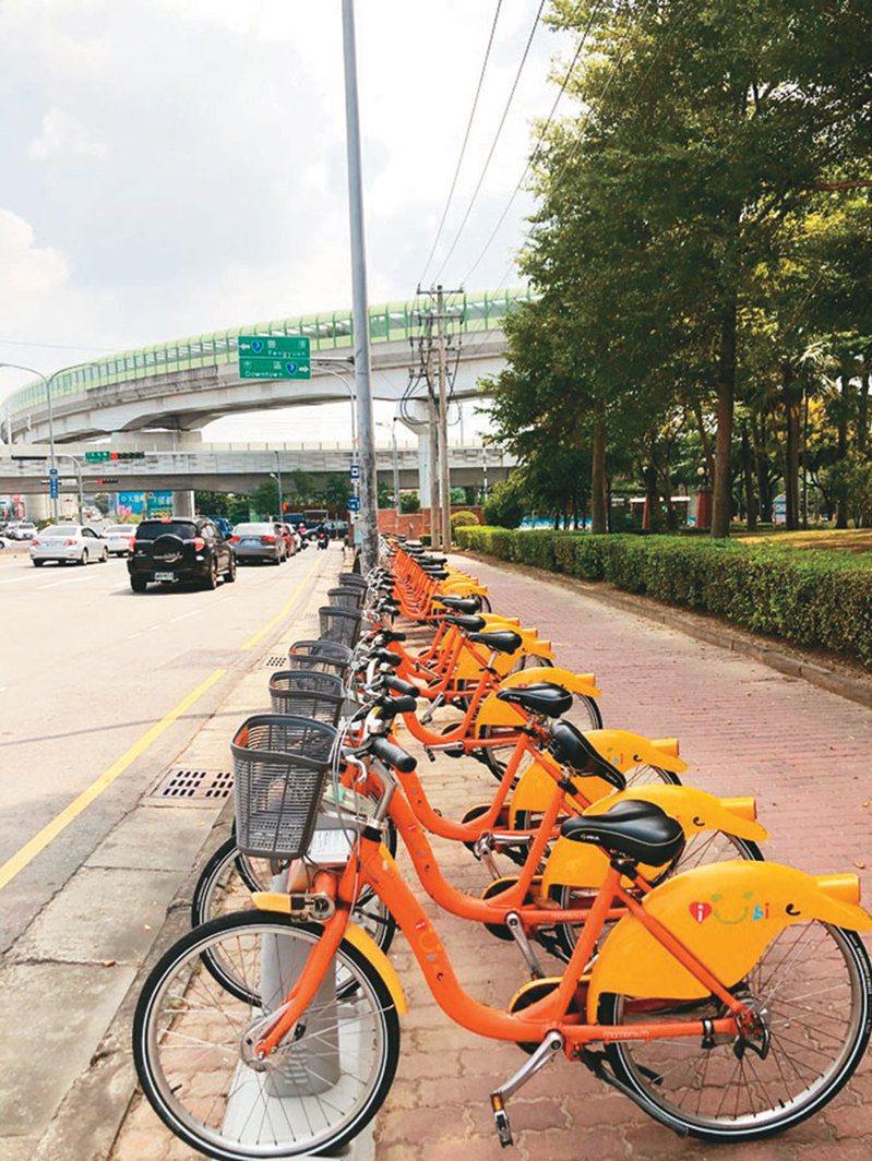 各地民代力爭設置iBike站點,增加在地居民便利。記者陳秋雲/攝影