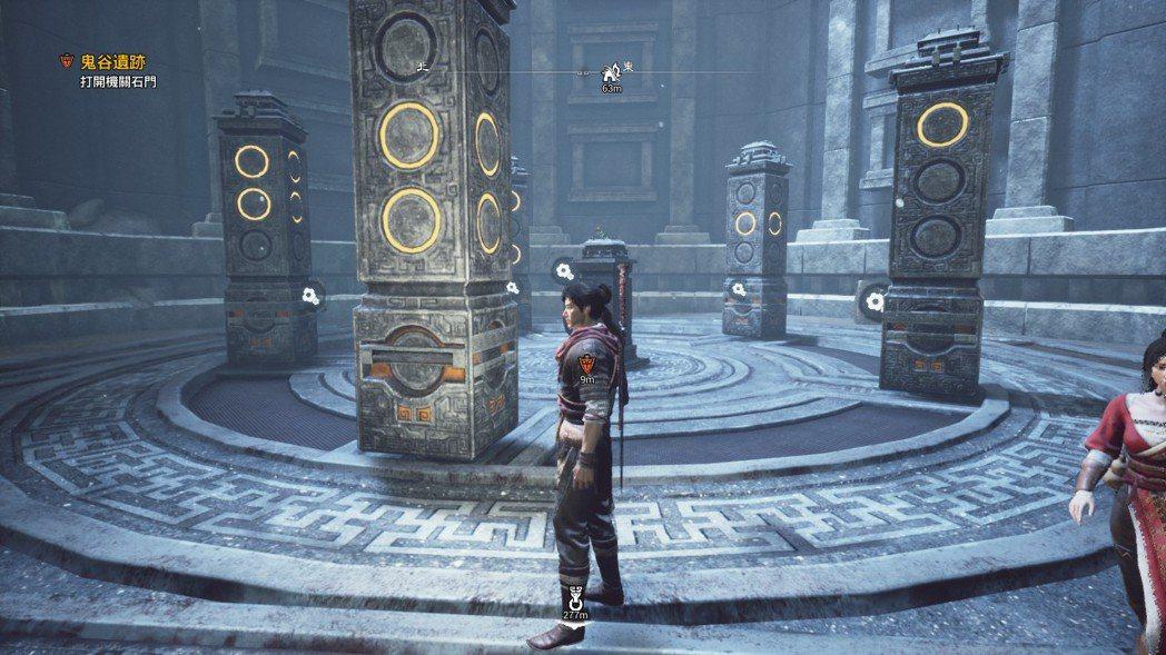 石柱謎題讓小虎我卡了一點點時間,靠著推測才過關。