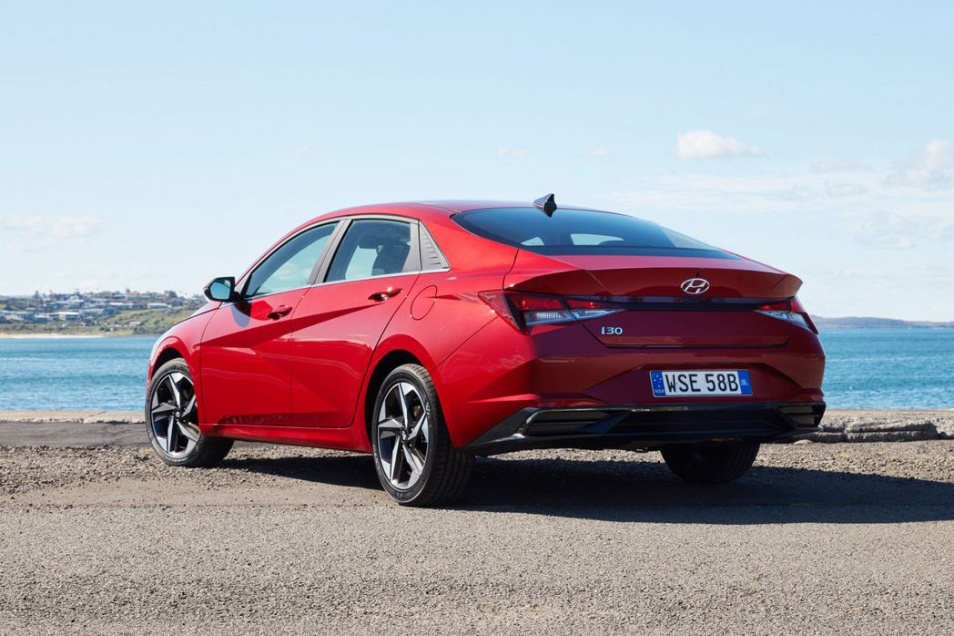 Elantra在澳洲市場更名為Hyundai i30 Sedan。 摘自Hyun...