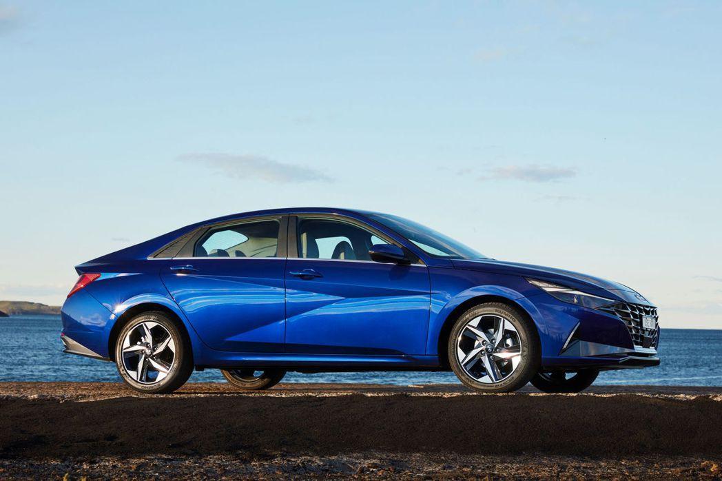 澳洲版Hyundai i30 Sedan (Elantra)。 摘自Hyunda...