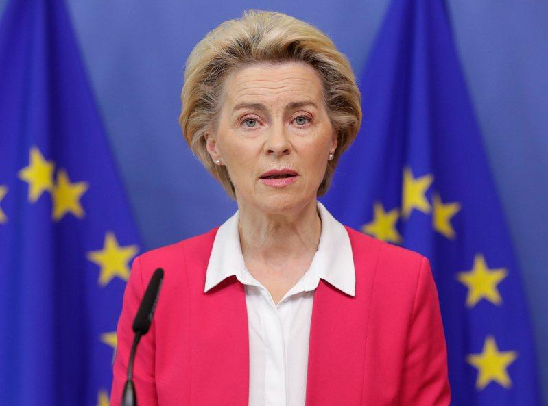 歐盟執委會主席范德賴恩。歐新社