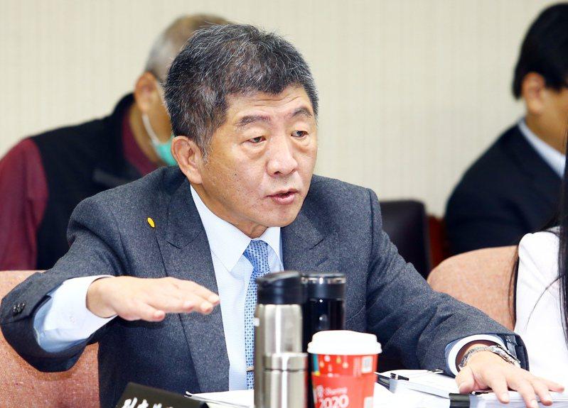 印度時報刊登我衛福部長陳時中(見圖)投書,呼籲終結台灣被世衛組織和全球公衛網路排除在外的情況。記者杜建重攝影/報系資料照