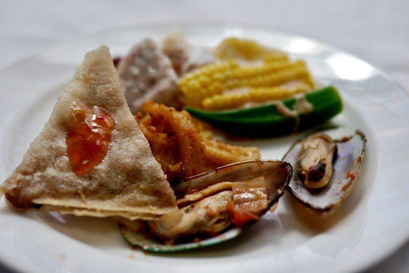 泰味蝦餅,皮脆蝦子新鮮。