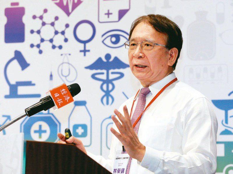 晟德集團董事長林榮錦1998年接手後歷經兩次轉型。圖/聯合報系資料照片