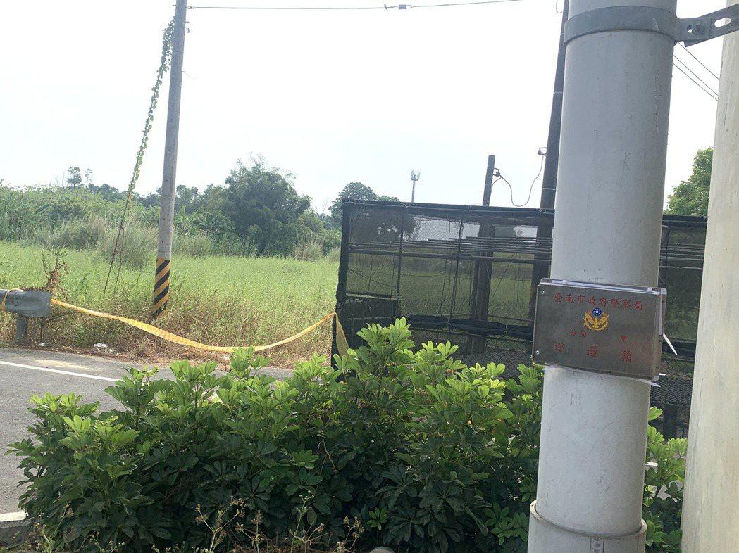 長榮大學女大學生在距離學校約300公尺處遇害,警方增設巡邏箱。記者吳淑玲/攝影