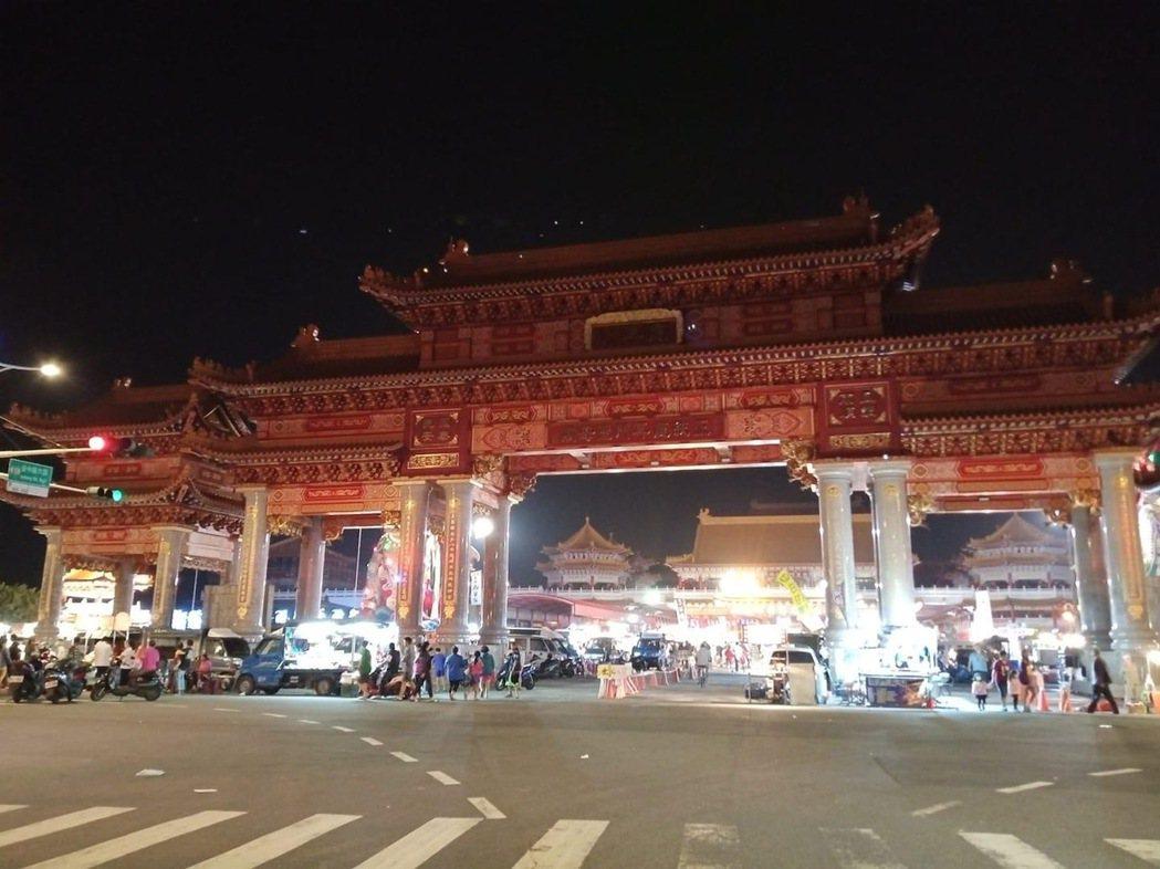 土城聖母廟夜市。圖/翻攝自「我住台南安南區」臉書
