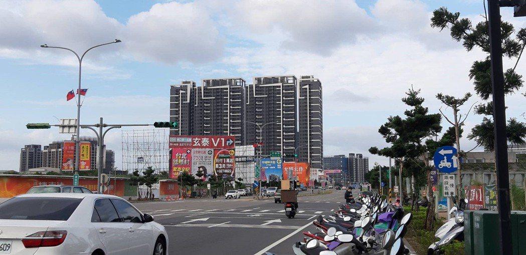 桃園房市。記者游智文/攝影
