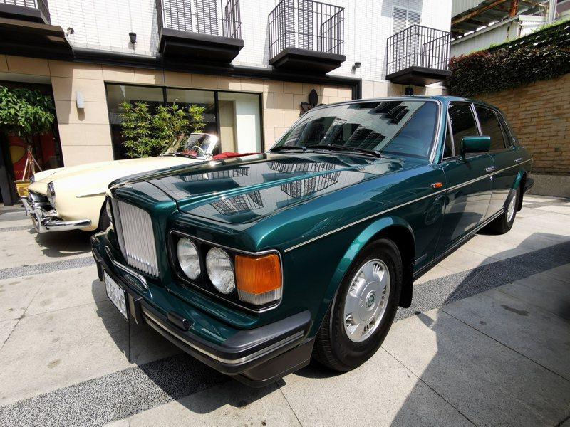 11月7日起將有50輛古董車來嘉義市遊行、展示。記者卜敏正/攝影
