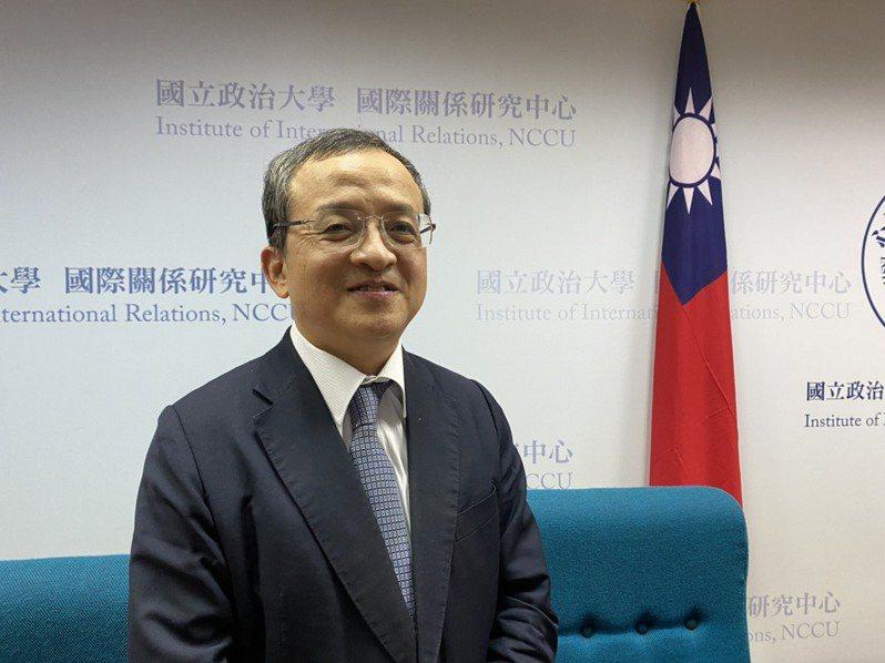 統一證券首席策略專家呂忠達。記者呂佳蓉/攝影