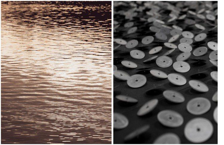 多達近2,000個發聲的圓盤裝置,令人聯想到自然中的水波、山嵐與各種自然現象。圖...