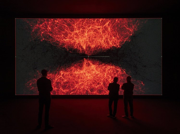 動態、數位、奇想的表現方式,讓池田亮司不僅在北美館的展出大受好評,更成為全球熱門...