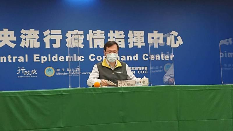 莊人祥表示,這三例接種後死亡個案都比較像是本身就有的疾病病程,研判與流感接種關聯性不大。記者陳婕翎/攝影