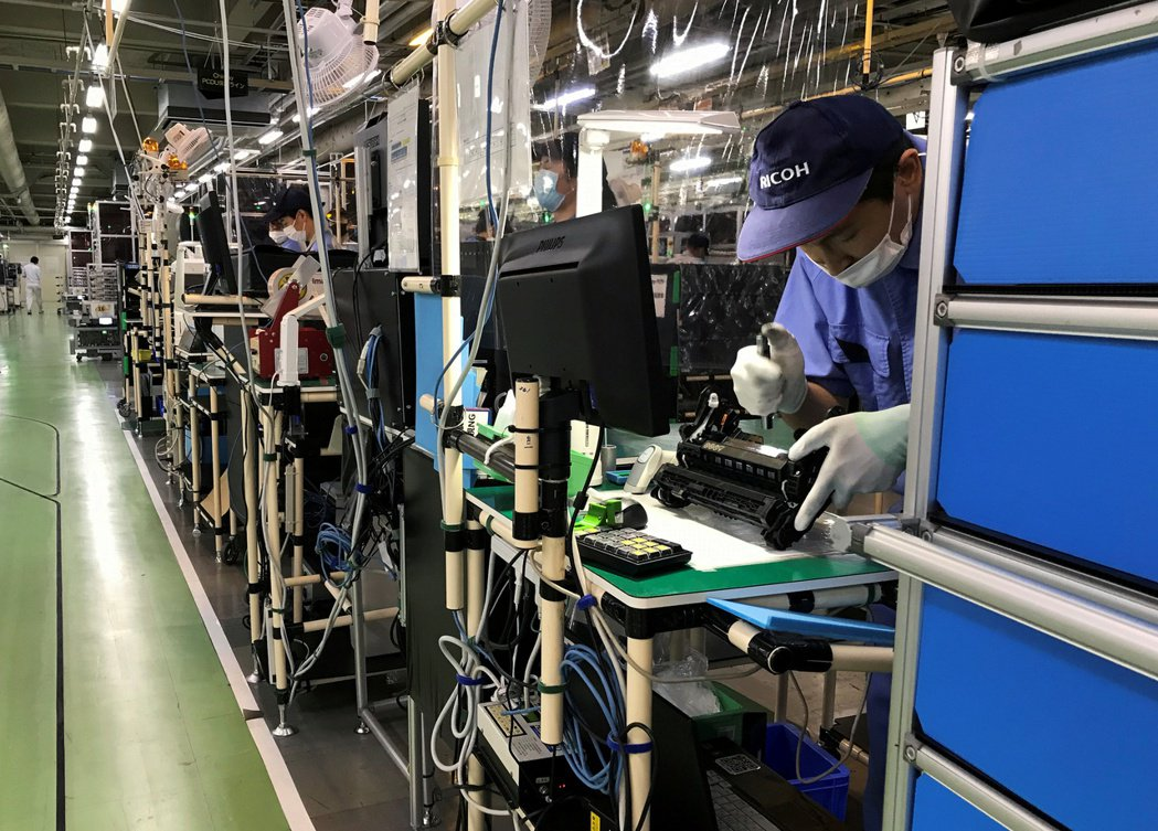 日本上季工業產值較前一季增長8.8%,創47年來最大增幅。路透