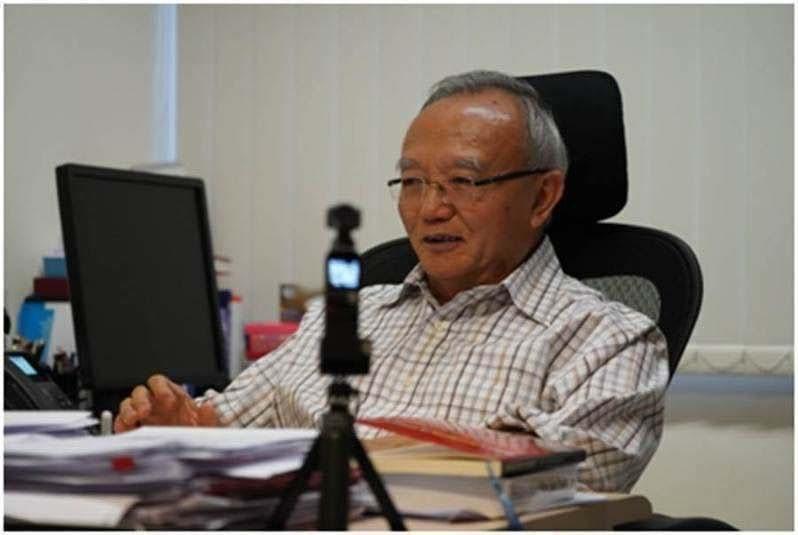 大陸全國港澳研究會副會長劉兆佳。圖/取自環球網