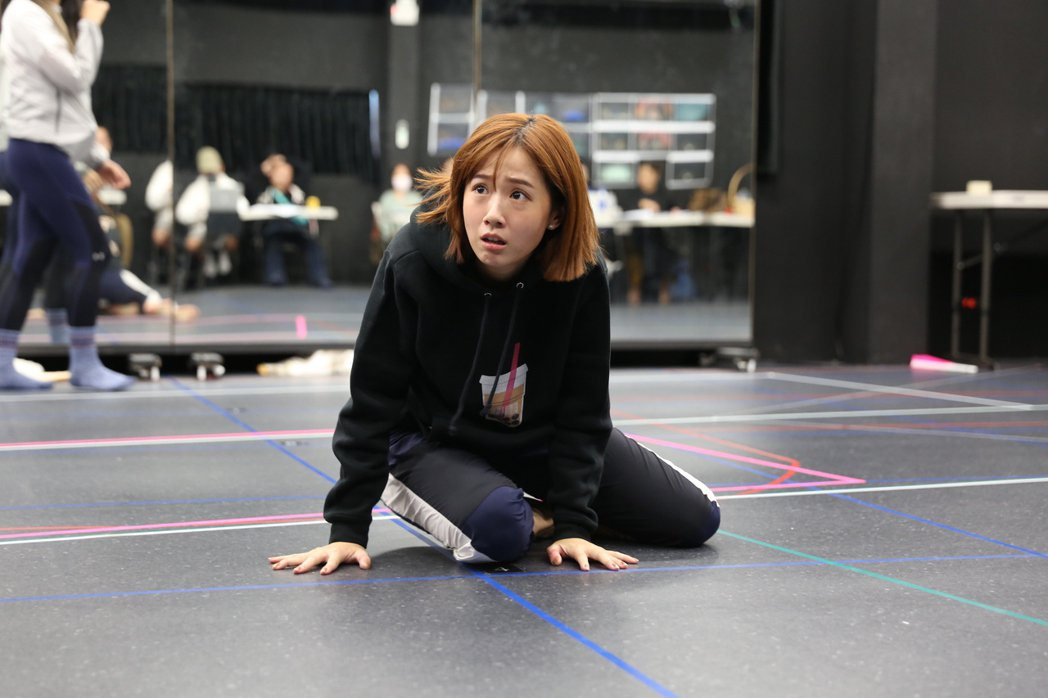 方志友排練魔幻音樂劇「妖怪臺灣」。圖/故事工廠提供