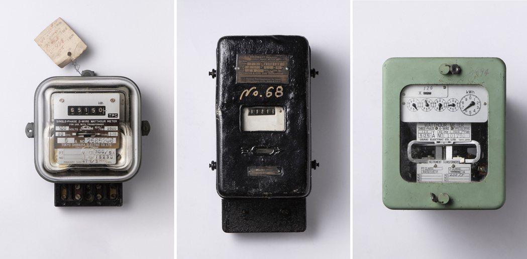台電「島嶼脈動文資展」現場展出1914的百年電表是必逛亮點,也是台灣第一個電表(...